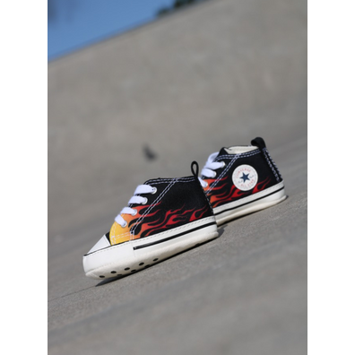 Converse First star black flame  productafbeelding