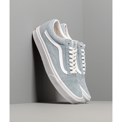 Vans Old Skool (Pig Suede) Blue Fog/ True White productafbeelding