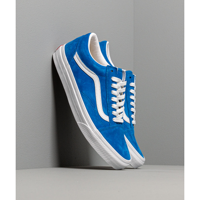 Vans Old Skool (Pig Suede) Princes Blue/ True White productafbeelding