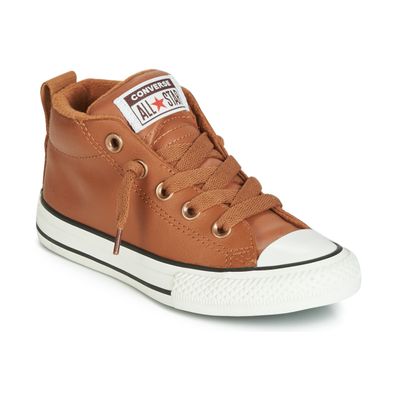 Converse CHUCK TAYLOR ALL STAR STREET RED ROVER LEATHER HI productafbeelding