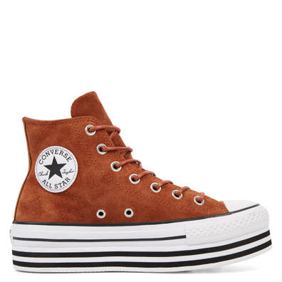 Chuck Taylor All Star Platform Suede High Top productafbeelding