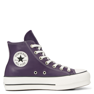 Chuck Taylor All Star Platform Leather High Top productafbeelding