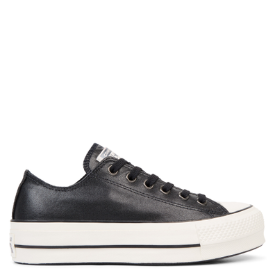 Chuck Taylor All Star Shiny Metals Platform Low Top productafbeelding