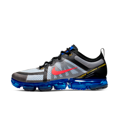 Nike Air Vapormax 2019 (Black / Bright Crimson - Hyper Blue) productafbeelding