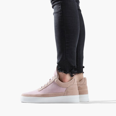 Filling Pieces Low Top Plain Cape Suede Nude 29726201888PFH productafbeelding