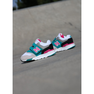 New Balance 997 Grey/Pink TS productafbeelding