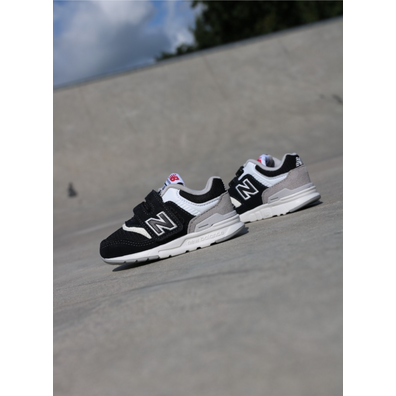 New Balance 997 Black/white TS productafbeelding