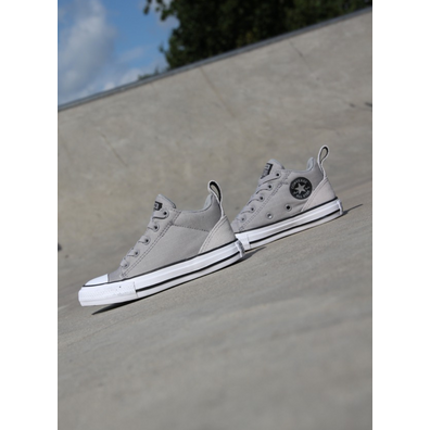 Converse Ollie mid grey/black ps productafbeelding