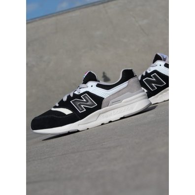New Balance 997 Black/grey/white GS productafbeelding