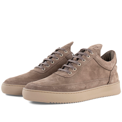 Filling Pieces Low Top Ripple Ejura 'Taupe' productafbeelding