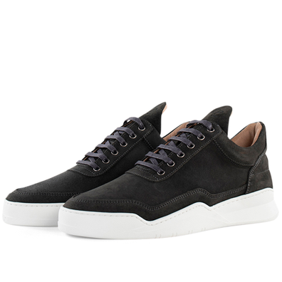 Filling Pieces Low Top Ghost Suede 'Antracite' productafbeelding
