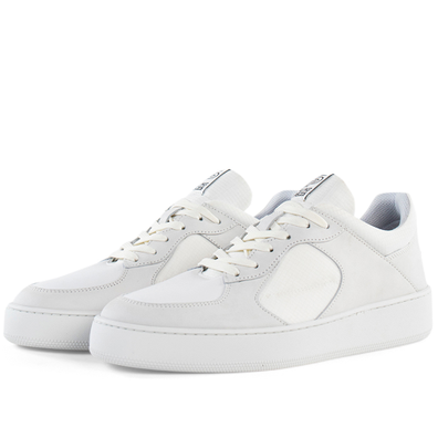 Filling Pieces Low Cage GF Linus 'All White' productafbeelding
