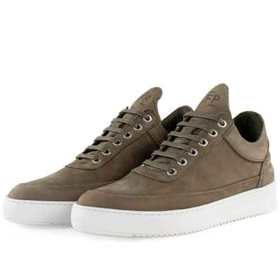 Filling Pieces Low Top Ripple Cairos 'Army Green' productafbeelding