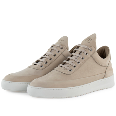 Filling Pieces Low Top Ripple Cairos 'Beige' productafbeelding