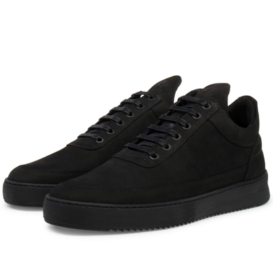 Filling Pieces Low Top Ripple Tonal 'Black' productafbeelding