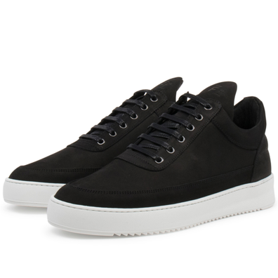 Filling Pieces Low Top Ripple Basic 'Black / White' productafbeelding