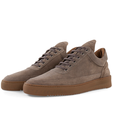 Filling Pieces Low Top Ripple Gum 'Taupe' productafbeelding