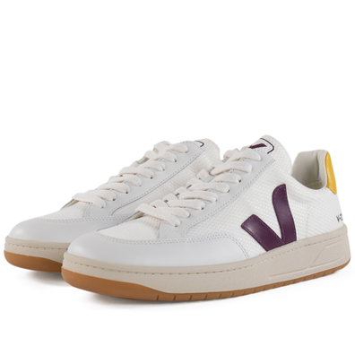 Veja V-12 B-Mesh 'White Berry Gold' productafbeelding