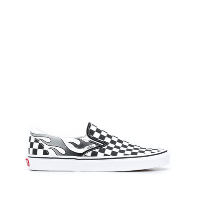 Vans Slip-on Checkerboard Flame productafbeelding