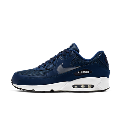 Nike Air Max 90 Essential Coastal Blue/White-Blackened Blue-Black productafbeelding