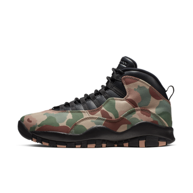 Air Jordan 10 'Camo' productafbeelding