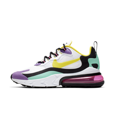 Nike WMNS Air Max 270 React 'Dynamic Yellow' productafbeelding