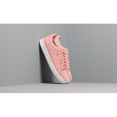 Puma Suede Pearl Studs Wn s Bridal Rose-Puma Team Gold productafbeelding