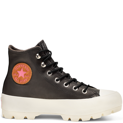 Chuck Taylor All Star Lugged Waterproof Leather High Top productafbeelding