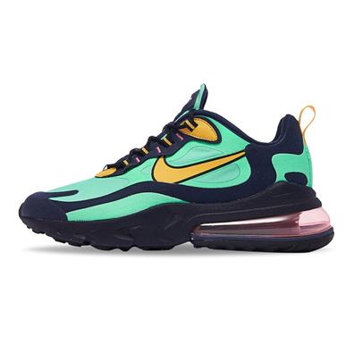 Nike Air Max 270 React (Pop Art) Electro Green / Yellow Ochre productafbeelding