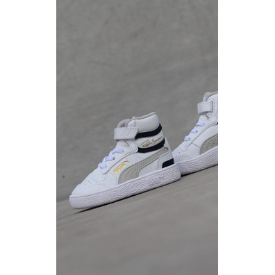 Puma Ralph sampson mid white TS productafbeelding