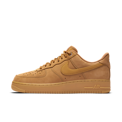 Nike Air Force 1 07 Trainers Hasta Summit White Vachetta Tan