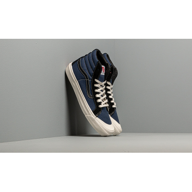 Vans OG Style 138 LX (Suede/ Canvas) Black/ Navy productafbeelding