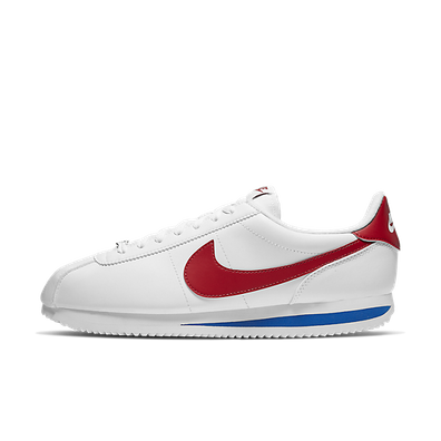 Nike Cortez Basic Leather (White / Varsity Red - Varsity Royal) productafbeelding