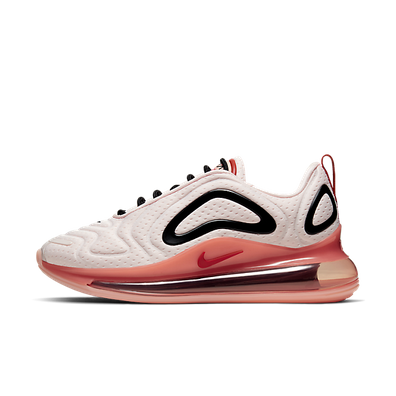 Nike Wmns Air Max 720 (Light Soft Pink / Gym Red - Coral Stardust) productafbeelding