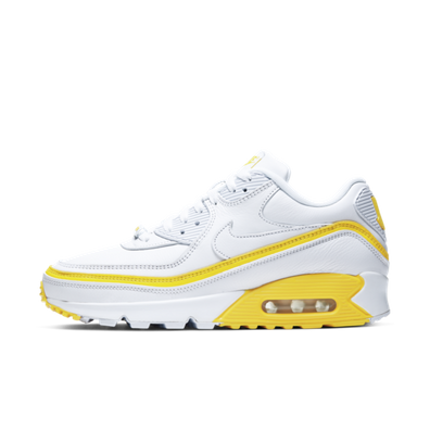 UNDEFEATED X Nike Air Max 90 'White & Yellow' productafbeelding