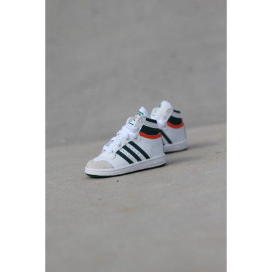 Adidas Top ten hi white/green/red  ts productafbeelding