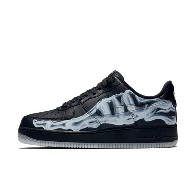 Nike Air Force 1 Skeleton QS 'Black' productafbeelding