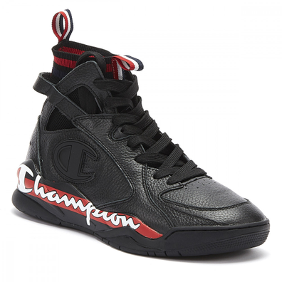 Champion Zone 93 High Mens Black Trainers productafbeelding