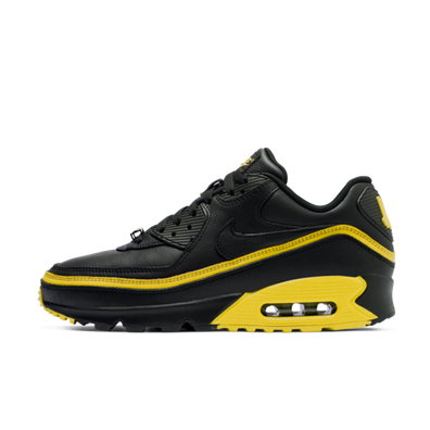 Undefeated X Nike Air Max 90 'Black/Yellow' productafbeelding