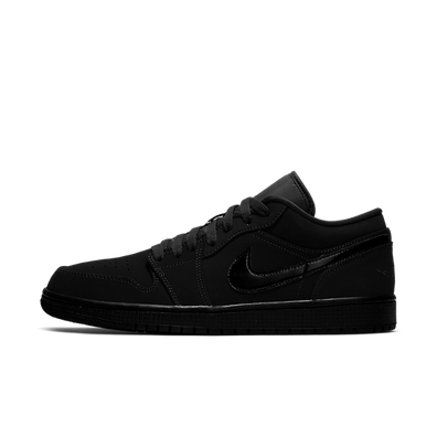 Nike Air Jordan 1 Low Black / Black productafbeelding