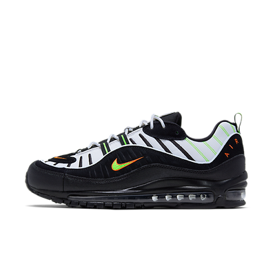 Nike Air Max 98 (Platinum Tint / Black - Electric Green) productafbeelding