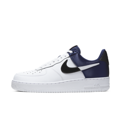 Nike Air Force 1 '07 LV8 NBA 'White/Midnight Navy' productafbeelding