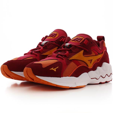 Mizuno Wave Rider 1 (Harvest Pumpkin / Harvest Pumpkin / Biking Red) productafbeelding