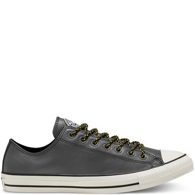 Unisex Tumbled Leather Chuck Taylor All Star Low Top productafbeelding