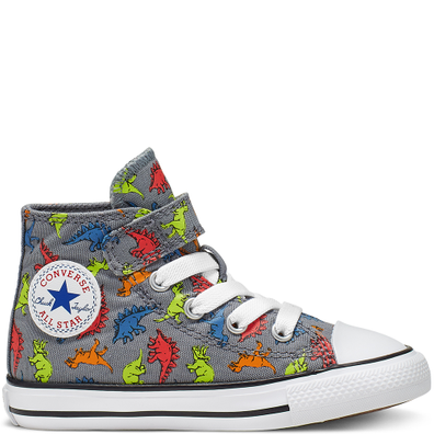 Infant Dinoverse Hook and Loop Chuck Taylor All Star High Top productafbeelding