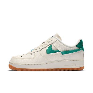 Nike Wmns Air Force 1 07 LXX Vandalized 'Green Swoosh' productafbeelding