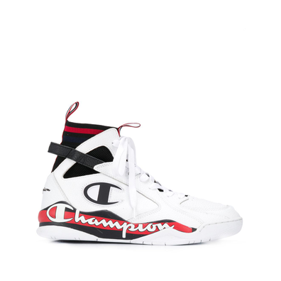 Champion side logo print hi-top productafbeelding