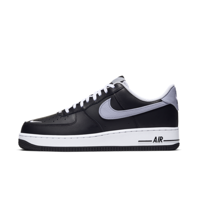 Nike Air Force 1 Low Swoosh Pack 'Black' productafbeelding