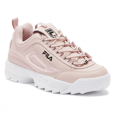 Fila Disruptor II 3D Embroider Womens Peachskin Pink Trainers productafbeelding