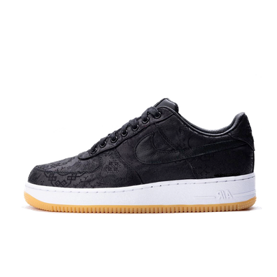 Fragment x CLOT x Nike Air Force 1 'Black' productafbeelding